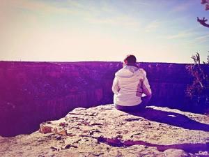 Me at The Grand Canyon, Jan. 2014