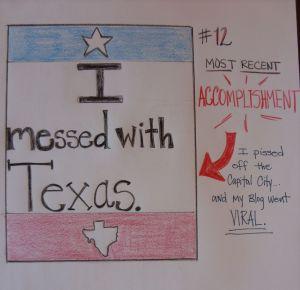 Day 12: Most recent accomplishment