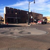 The corner of Winslow AZ